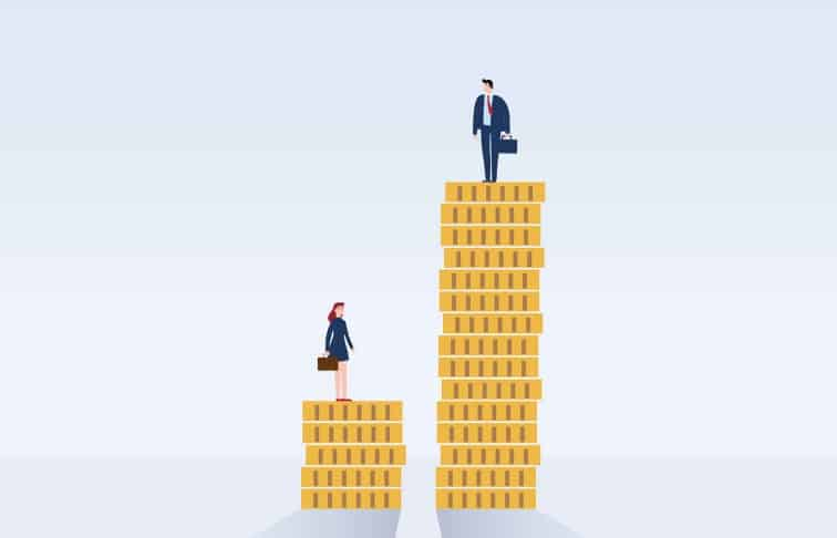 wage gap real estate